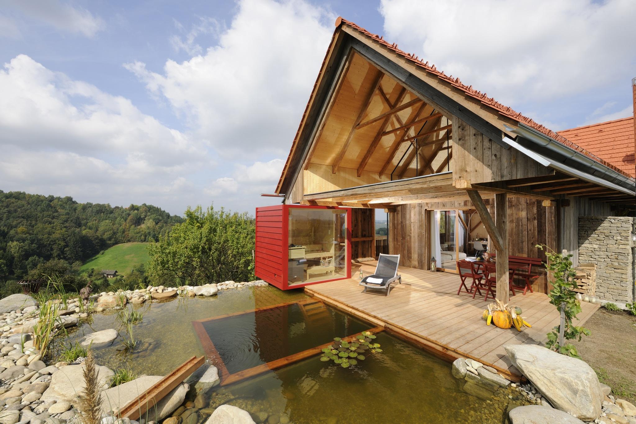 Ferienhaus sterreich for Chalet haus bauen