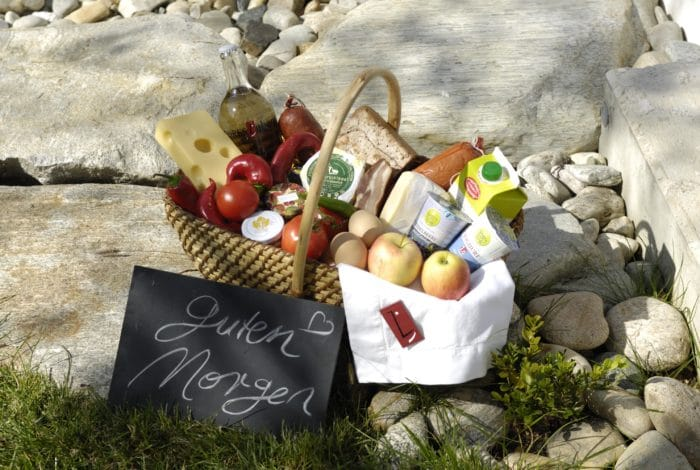 Ferienhaus Steiermark Frühstückskorb