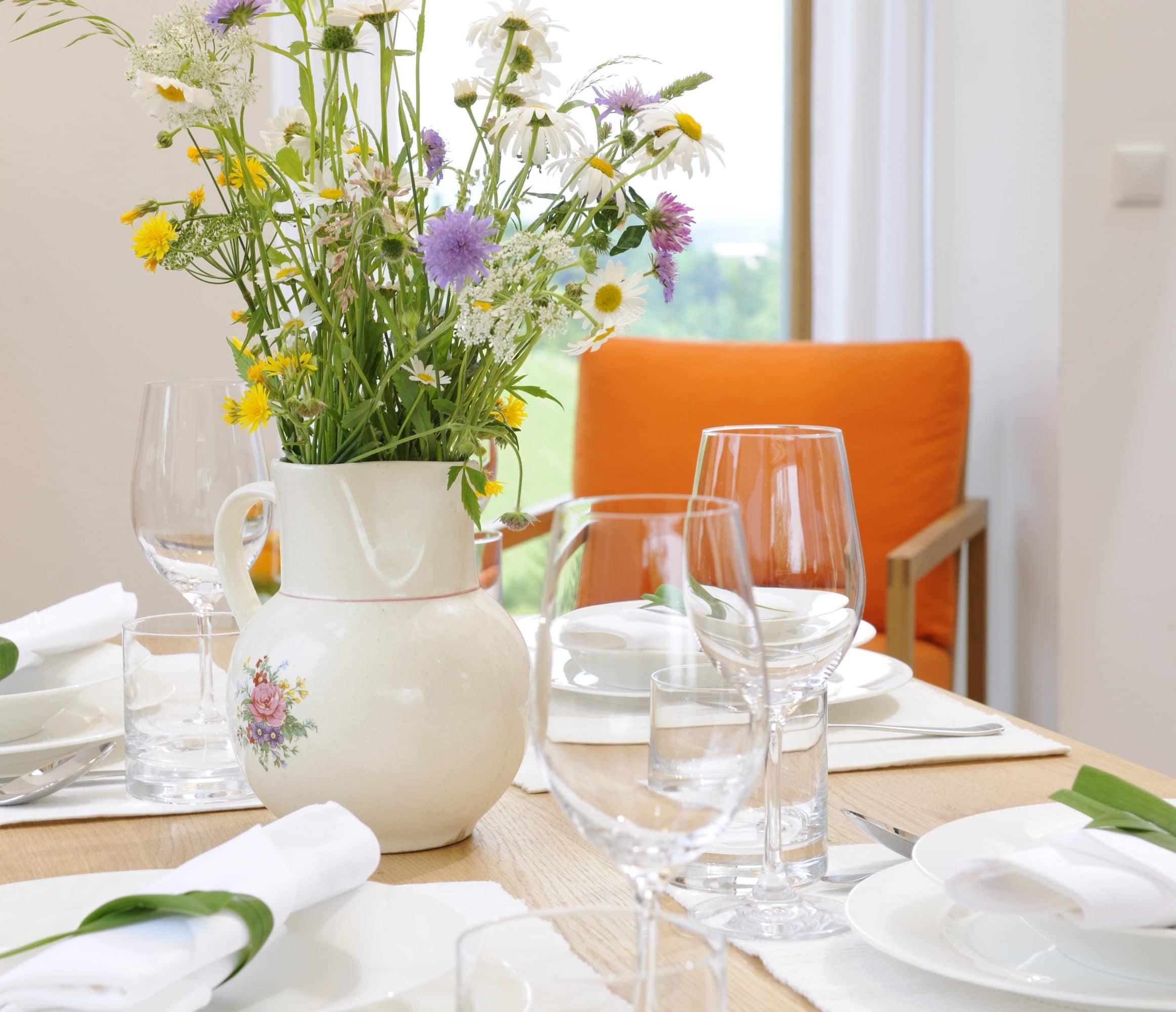 Luxus Ferienhaus Österreich Tisch