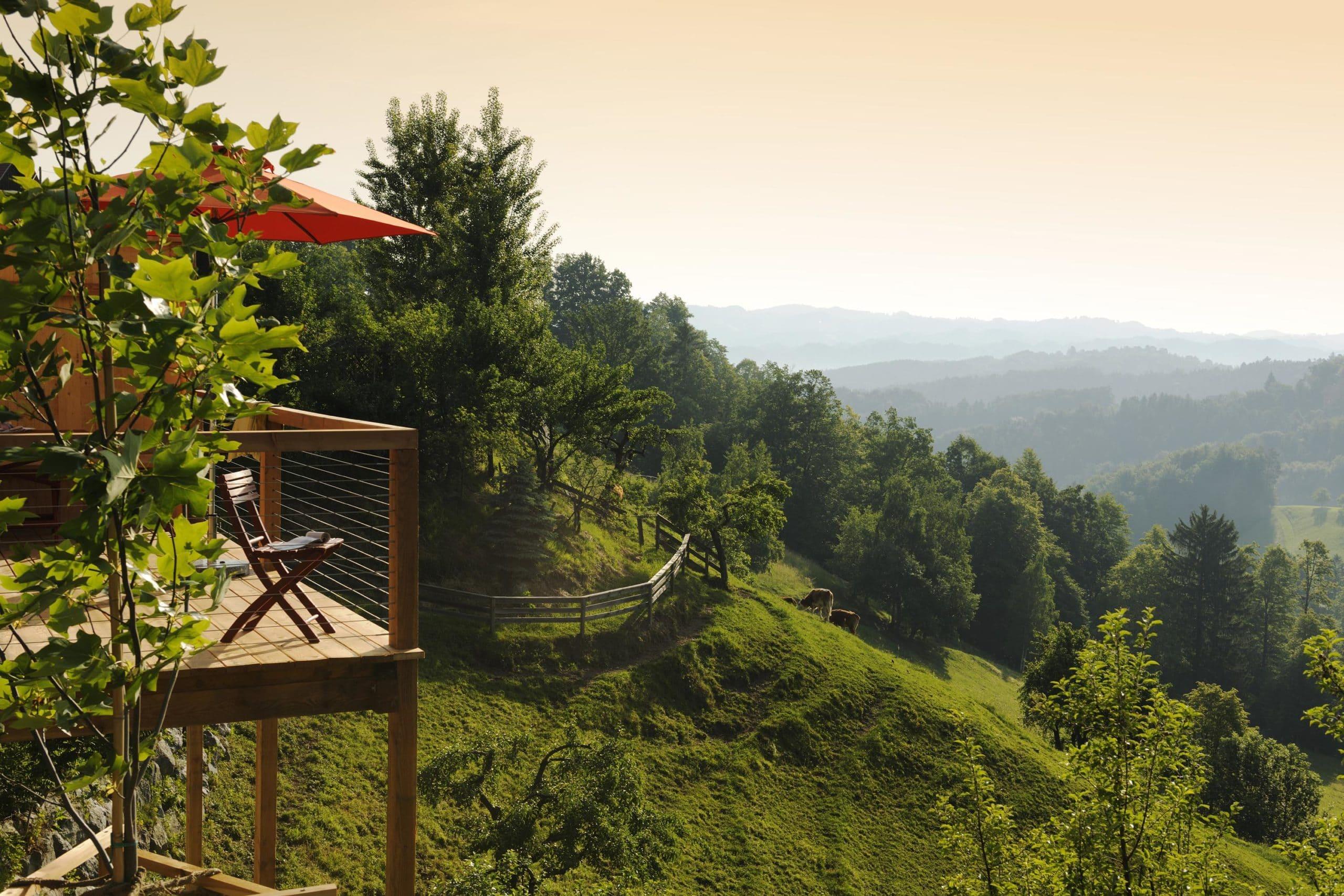 Ferienhäuser Österreich Tunauberg Blick