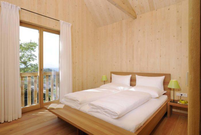 Ferienhäuser Österreich Tunauberg Schlafzimmer