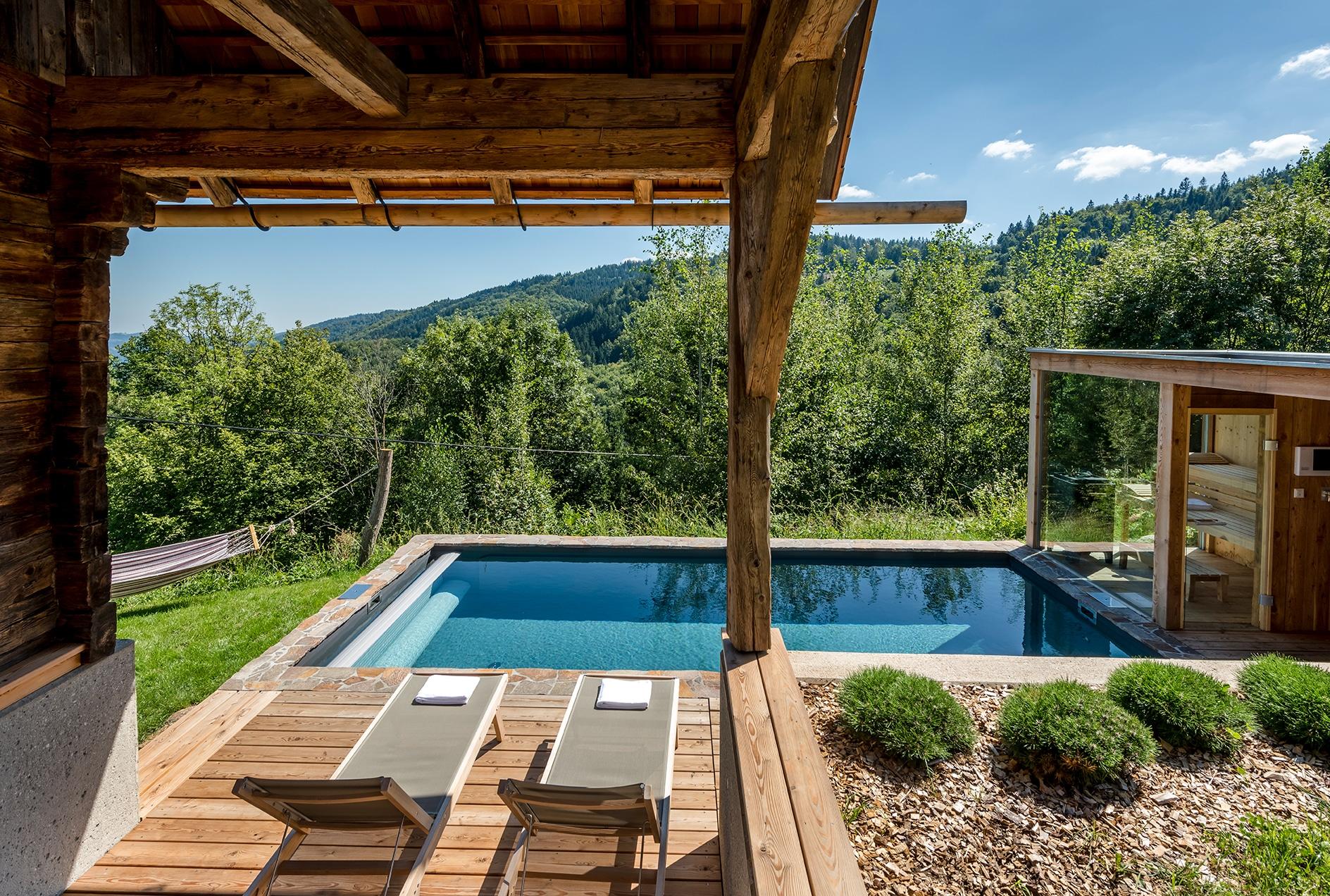 PURESLeben Stadl Wuggitz – Pool