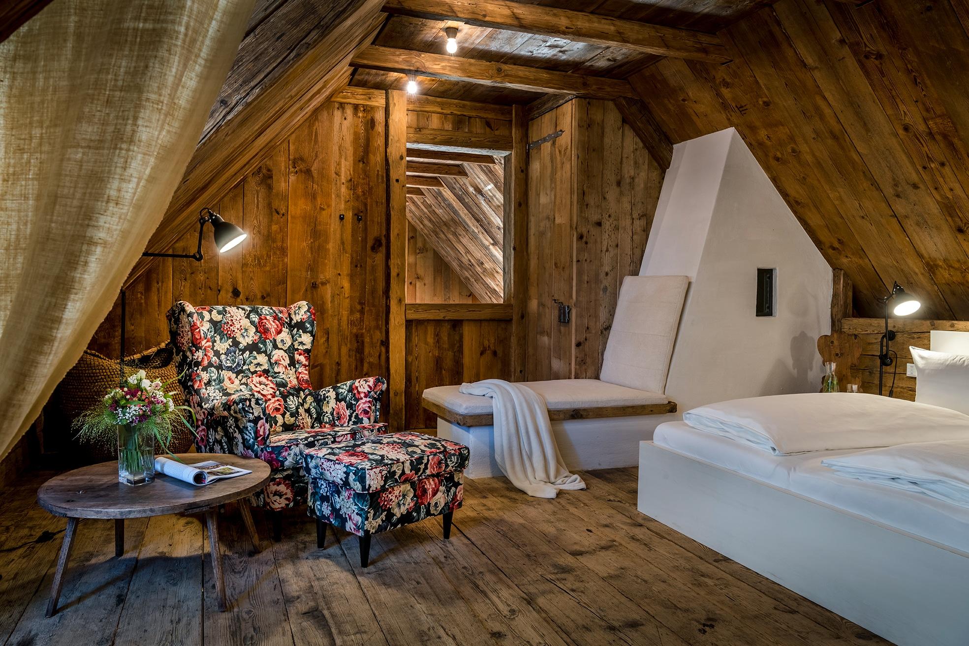 PURESLeben Stadl Wuggitz – Schlafzimmer